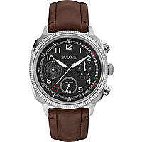 Uhr Chronograph mann Bulova Military Vintage 96B250
