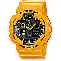 Uhr Chronograph mann Casio G-Shock GA-100A-9AER