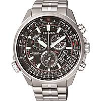 Uhr Chronograph mann Citizen Pilot BY0120-54E