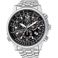 Uhr Chronograph mann Citizen Radio Controllati AS4020-52E