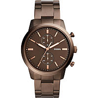 Uhr Chronograph mann Fossil Townsman FS5347
