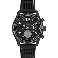 Uhr Chronograph mann Guess Fleet W0971G1
