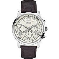 Uhr Chronograph mann Guess W0380G2