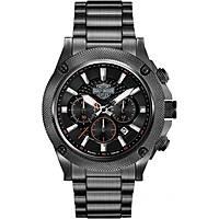 Uhr Chronograph mann Harley Davidson 78B127