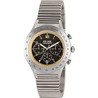 Uhr Chronograph mann Hip Hop Aluminium Chrono HWU0733