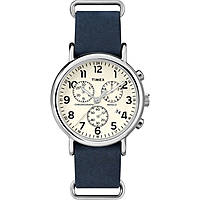 Uhr Chronograph mann Timex Weekender TW2P62100