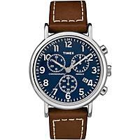 Uhr Chronograph mann Timex Weekender TW2R42600