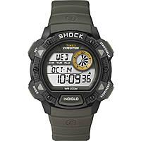 Uhr Chronograph unisex Timex Base Shock T49975