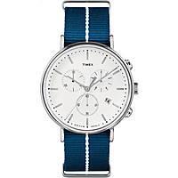 Uhr Chronograph unisex Timex Fairfield Chronograph TW2R27000