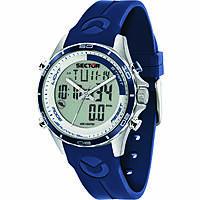 Uhr digital mann Sector Master R3271615003