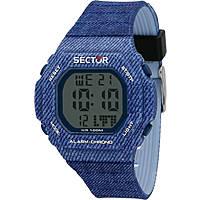 Uhr digital mann Sector R3251599003