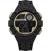 Uhr digital mann Superdry Radar SYG193BG