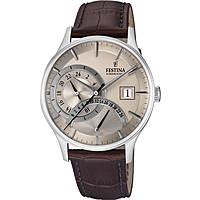 Uhr dual time mann Festina Retro F16983/2