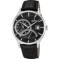 Uhr dual time mann Festina Retro F16983/4