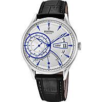 Uhr dual time mann Festina Retro F16985/1