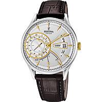 Uhr dual time mann Festina Retro F16985/2