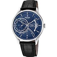 Uhr dual time mann Festina Retro F16985/3