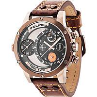 Uhr dual time mann Police Adder R1451253002