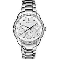 Uhr Multifunktions frau Bulova Diamanti 96W195
