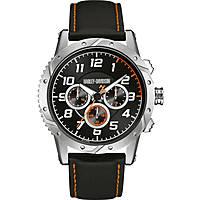 Uhr Multifunktions mann Harley Davidson 76B171