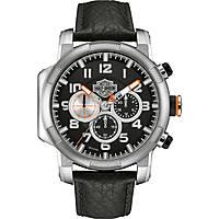 Uhr Multifunktions mann Harley Davidson 76B172