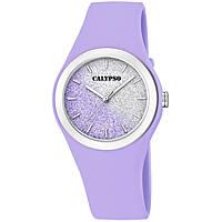 Uhr nur Zeit frau Calypso Trendy K5754/2