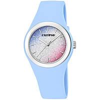 Uhr nur Zeit frau Calypso Trendy K5754/4