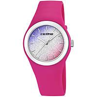 Uhr nur Zeit frau Calypso Trendy K5754/5
