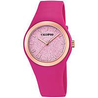 Uhr nur Zeit frau Calypso Trendy K5755/5