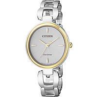 Uhr nur Zeit frau Citizen L Collection EM0424-88A