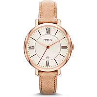 Uhr nur Zeit frau Fossil ES3487