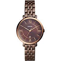 Uhr nur Zeit frau Fossil Jacqueline ES4275