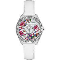 Uhr nur Zeit frau Guess Fleur W0905L1
