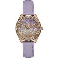 Uhr nur Zeit frau Guess Glitter Girl W0823L11