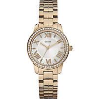 Uhr nur Zeit frau Guess Rose Gold W0444L3