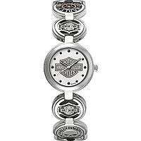 Uhr nur Zeit frau Harley Davidson 76L145