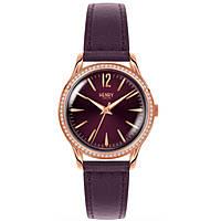 Uhr nur Zeit frau Henry London Stones HL34-SS-0198