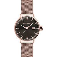 Uhr nur Zeit frau John Dandy JD-2609L/04M