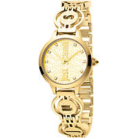 Uhr nur Zeit frau Just Cavalli Logo JC1L028M0035