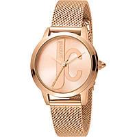 Uhr nur Zeit frau Just Cavalli Logo JC1L050M0095