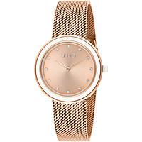 Uhr nur Zeit frau Liujo Luxury Round TLJ1200A