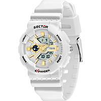 Uhr nur Zeit frau Sector Ex-15 R3251515503