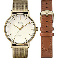 Uhr nur Zeit frau Timex Fairfield Box Set TWG016600