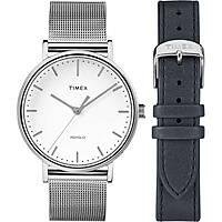 Uhr nur Zeit frau Timex Fairfield Box Set TWG016700