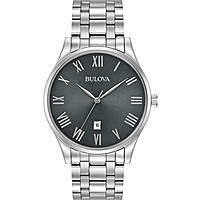 Uhr nur Zeit mann Bulova Classic 96B261