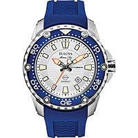 Uhr nur Zeit mann Bulova Marine Star 98B208