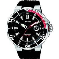 Uhr nur Zeit mann Citizen Marine Sport AW1420-04E