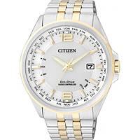 Uhr nur Zeit mann Citizen Radio Controllati CB0016-57A