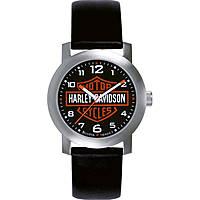 Uhr nur Zeit mann Harley Davidson 76A04