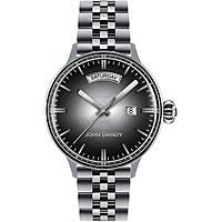 Uhr nur Zeit mann John Dandy JD-2572M/09M